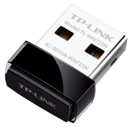 TP-LINK TL-WN725N, USB, wifi adapter
