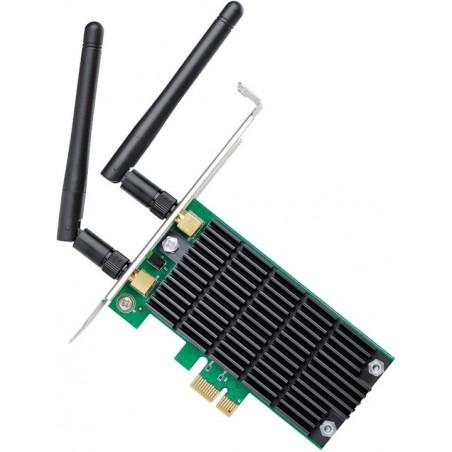 TP-LINK Archer T4E, 2.4+5GHz, 1.2Gb/s, PCI-e, bezdrátová wifi síťová karta