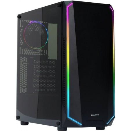 ProGaming STAGE 4, extrémně výkonný herní počítač s 12 vláknovým procesorem 4.4GHz a RX580 - PC sestava