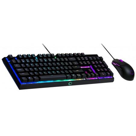 CoolerMaster MS110, herní set klávesnice a myši, US