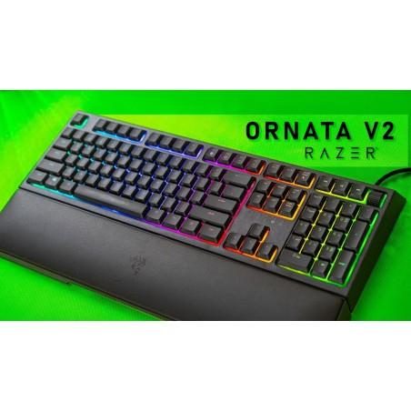 Razer Ornata V2, podsvícená herní klávesnice, USB, US