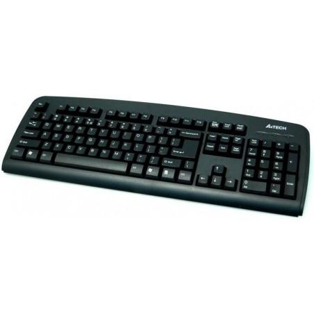 A4tech KB-720, tenká klávesnice, CZ/US, PS2, černá